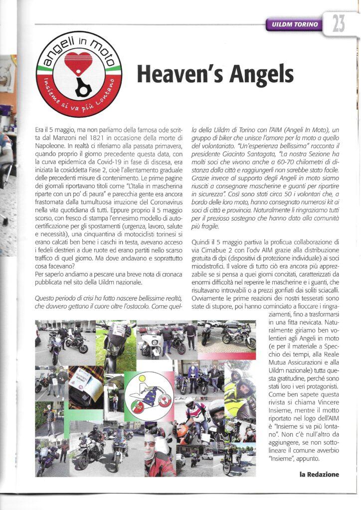 La collaborazione Angeli in Moto e UILDM